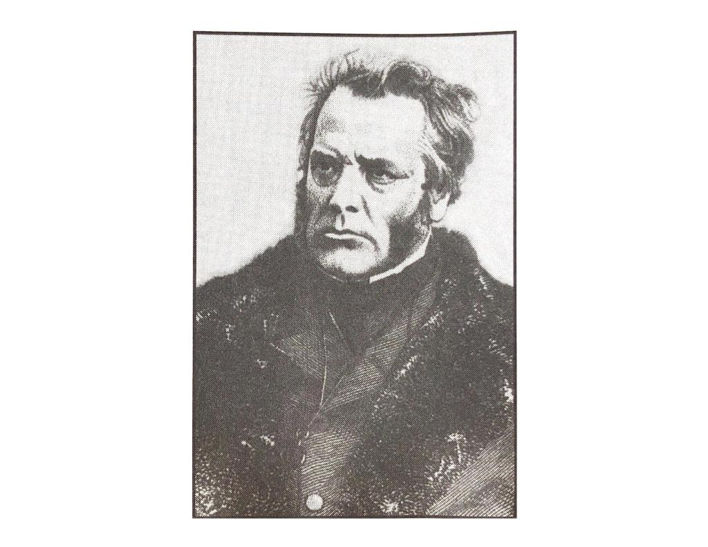 Portrait of one of the alleged namesakes of Buchanan Township, the Honourable Isaac Buchanan